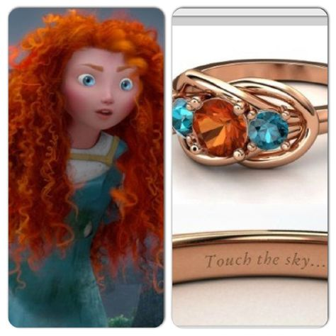 Awesome Disney Engagement Rings - The Little Mermaid Ring