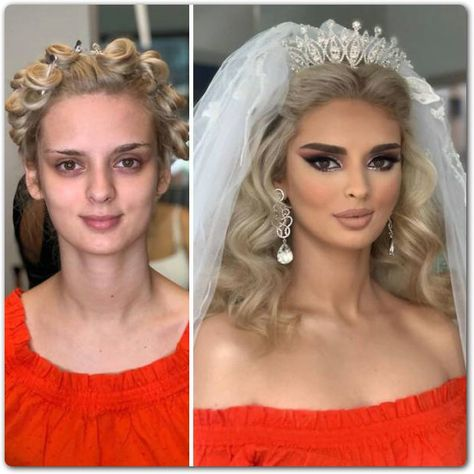 superb photographs that present how brides look earlier than and after marriage ceremony make-up Informations About Placing Images That.