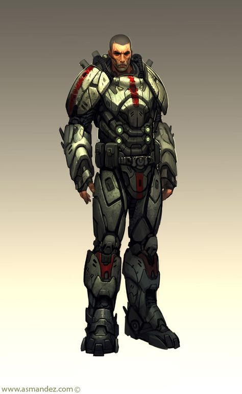 2937 best images about Super Soldiers on Pinterest   Character design, Cyborgs and Drawings