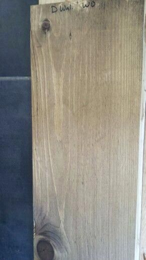 Dark Walnut And Weathered Oak Stains On Pine Perfect Mix For A Neutral Brown Driftwood Stain Yellow Weathered Oak Stain Staining Wood Stain On Pine