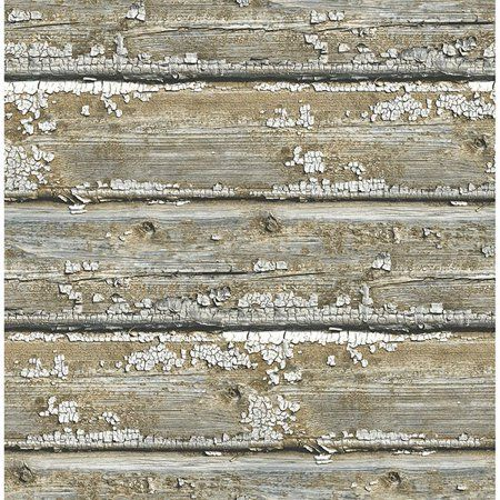 Nuwallpaper Planks Peel Stick Wallpaper Walmart Com Wood Wallpaper Peel And Stick Wallpaper Nuwallpaper
