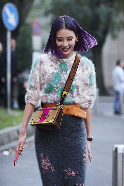 Sweater Set - Milan's Most Inspiring Street Style - Photos