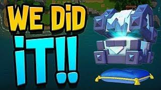 We Did It Legendary King S Chest Clash Royale Clash Royale Chest King