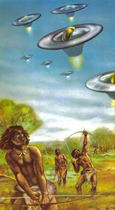 Mondorama 2000 Une Legende Orale D Oceanie Laisse Entendre Qu Une Race Humaine Superieure D Origin Art Alien Extraterrestres Et Ovnis Ancetres Extraterrestres