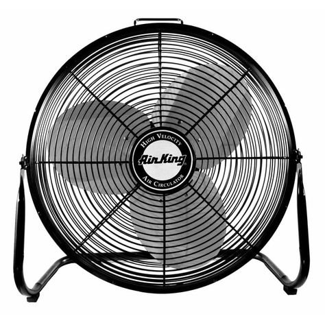 Air King 9212 12 1360 Cfm 3 Speed Industrial Grade Floor Fan Fans Air Circulator Floor Fan Floor Fans Industrial Fan Best Floor Fan