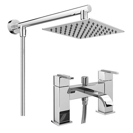 Milan Modern Bath Shower Mixer Inc