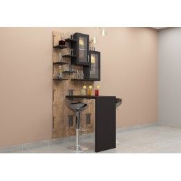 Beautifully Crafted Gl Door Cabinets Racks The Table Offers An Utter Look Make Your Home Ultra Modern With This Bar Unit