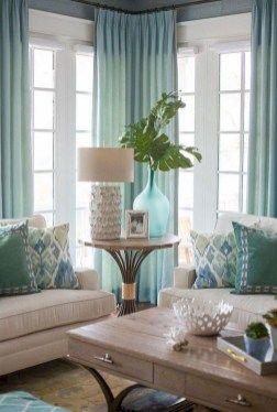 Stunning Coastal Living Room Decoration Ideas 41 Living Room