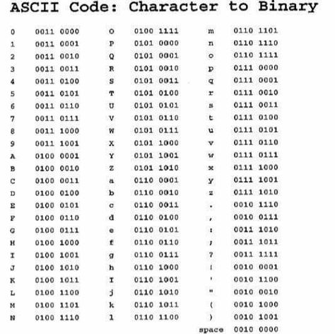Learn To Talk Binary The EfficientHard Way  Face Mystic