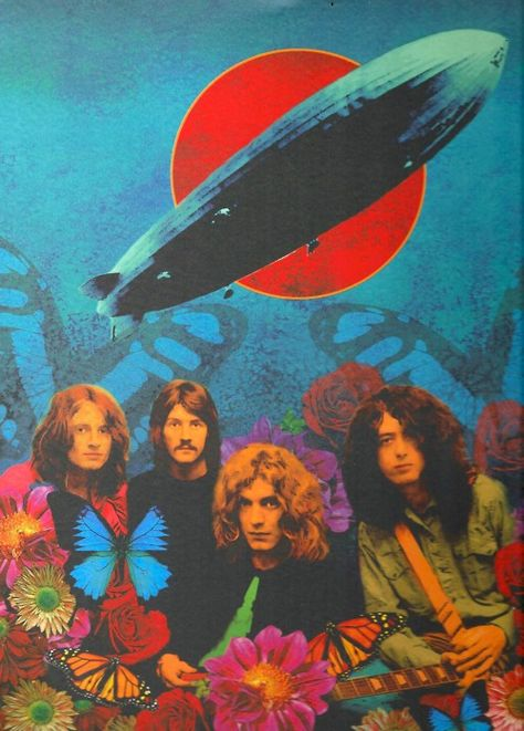 Led Zeppelin - John Paul Jones, John Bonham, Robert Plant, Jimmy Page Rock Posters, Band Posters, Concert Posters, Hippie Posters, Robert Plant, Heavy Metal, Jimi Hendricks, Hippie Art, Jimmy Page