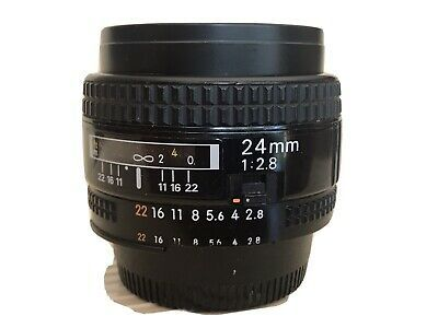 Nikon Nikkor 24mm F 2 8 Af Ai S Ebay 24mm Nikon Tripod Collars Mounts