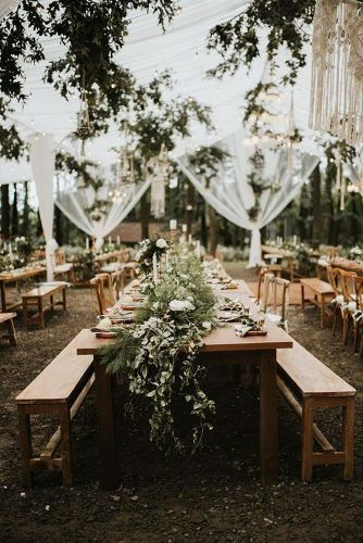 15 Forest Wedding Theme Ideas Wedding Forward In 2020 Forest Theme Wedding Wedding Reception Table Decorations Twilight Wedding