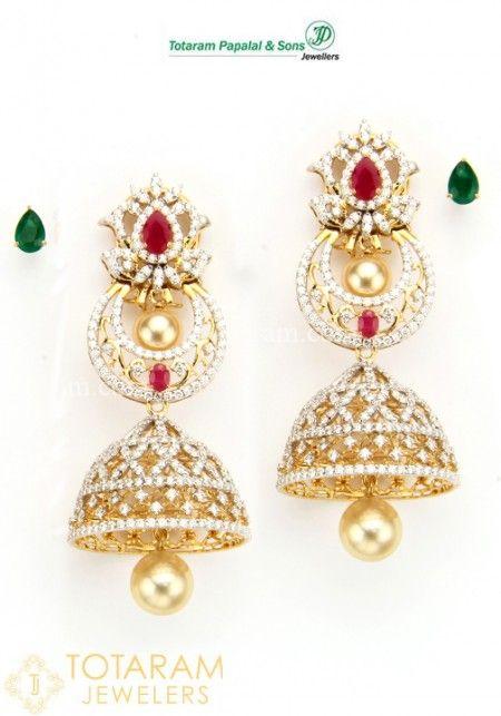 Diamond Earrings For Women Gold Designs