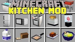 Minecraft Kitchen Mod Craft Ovens Microwaves Blenders