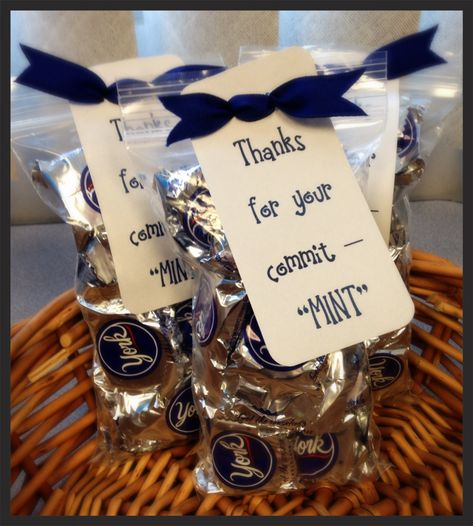 Thanks for your commitment gift for our counselors! So simple, SO cute!!!
