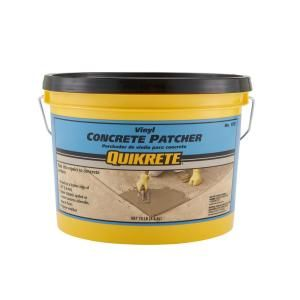 Quikrete 10 Lb Vinyl Concrete Patch Repair 113311 The Home Depot In 2020 Concrete Concrete Floors Repair