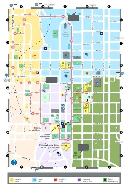 Raleigh Durham Nc Map Directions Welcome To The Convention Center On ...
