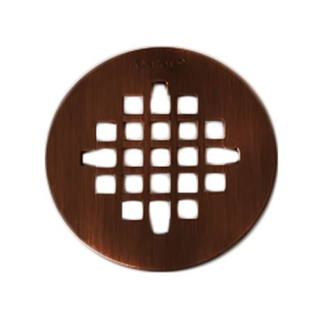 Strainer Rubbed Bronze Round Snap Tite Rubbed Bronze Shower