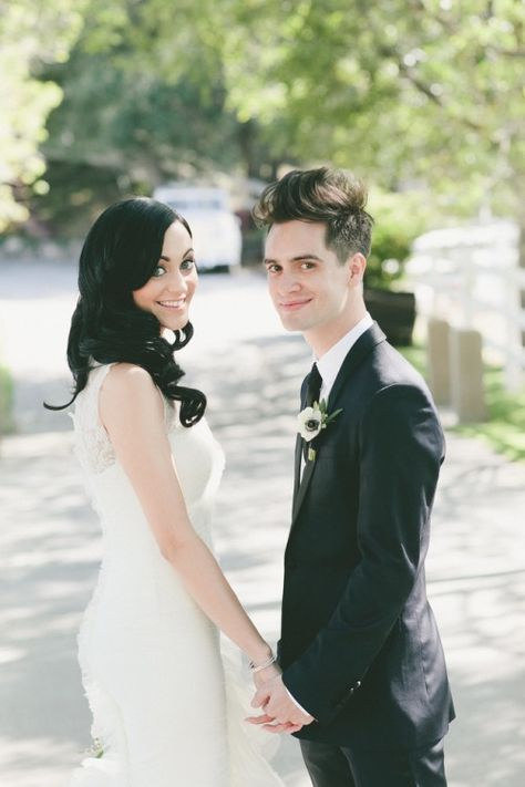 Brendon and Sarah Urie (Panic!at the Disco)