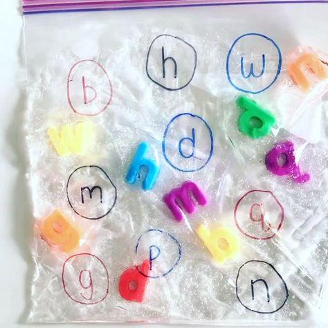 Alphabet Sensory Bag