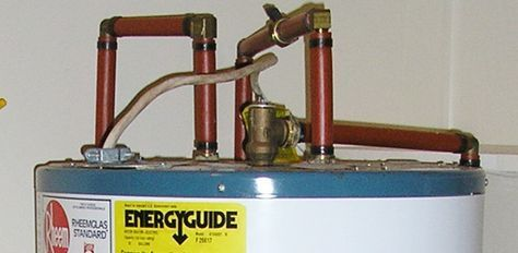 How To Fix A Water Heater S Leaking Pressure Relief Valve Hot Water Heater Water Heater Relief Valve