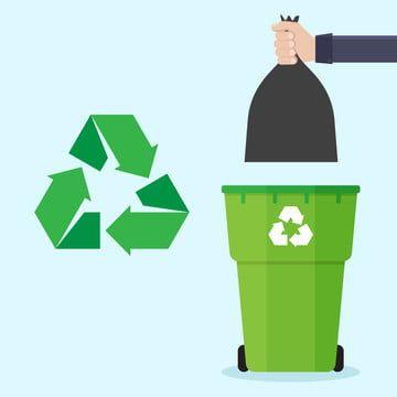 Ilustracion Basura Diseno Basura Vector Bin Residuos Puede Flat Reciclar Reciclaje Basura Concepto Lanza Ilustracion Vectorial Disenos De Unas Reciclaje Basura
