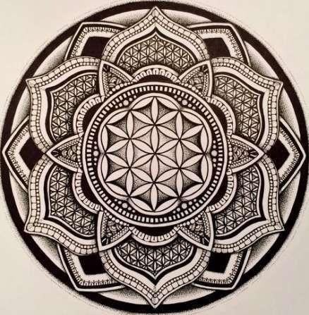 Tattoo Tree Of Life Mandala Symbols 36 Ideas For 2019 Blume Des Lebens Mandala Blume Des Lebens Blume Des Lebens Tattoo