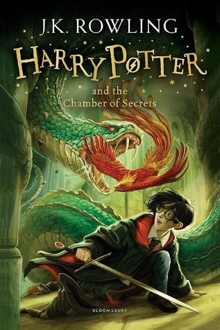 Harry Potter And The Chamber Of Secrets By J K Rowling Paperback