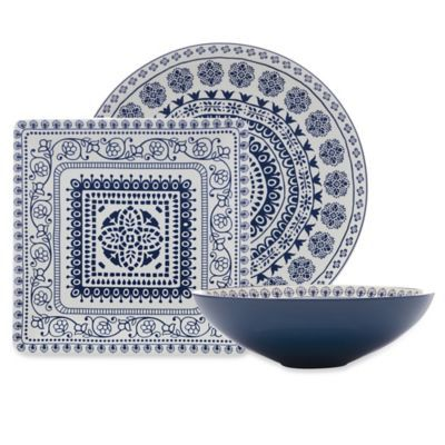 Maxwell Williams Antico Serveware Collection In Blue With