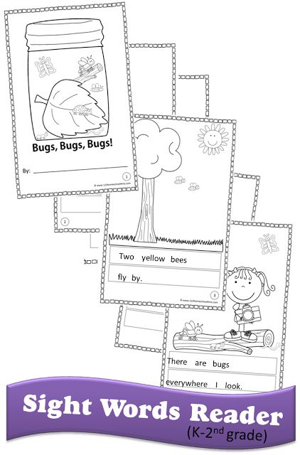 photograph relating to Free Printable Sight Word Books for First Grade known as Pinterest