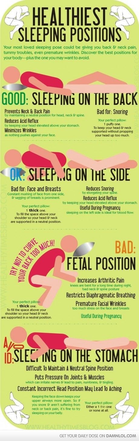 Interesting Healthy Sleeping Positions Healthy Sleep How To Stay Healthy