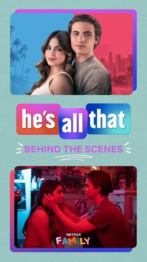 Go Behind the Scenes of He's All That with these fun facts!