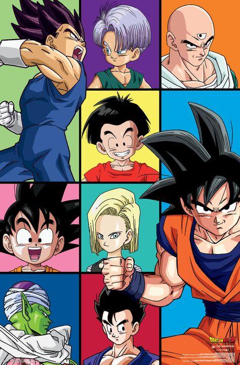 Trends International Dragon Ball Z Movies Poster