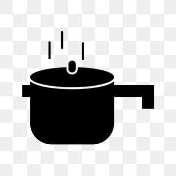 ناقلات أيقونة طنجرة ضغط الخلفية طباخ الطبخ Png والمتجهات للتحميل مجانا Kitchen Saucepan Pressure Cooker