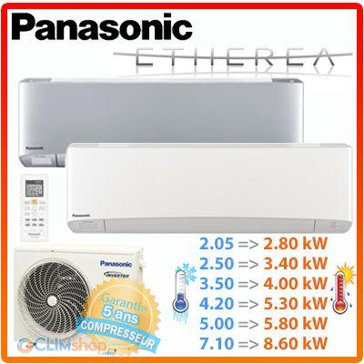 Climatiseur Panasonic Etherea R32 Climatiseur Climatisation Compresseur