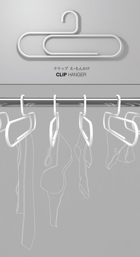 We love giant paperclips, so these are right up our alley! - Paperclip Hangers