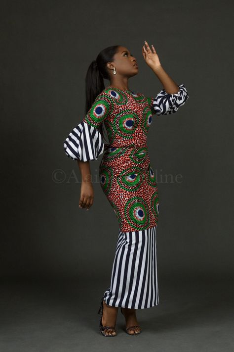 Alainé by Celine has put a new look to the traditional Iro and Buba by creating some extraordinary pieces that have the infusion of both Western and Nigerian elements.  …