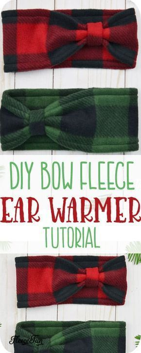 Make This Cute Fleece Ear Warmer Headband Diy With Bow ; machen sie dieses niedliche fleece-ohrwärmer-stirnband diy mit schleife Make This Cute Fleece Ear Warmer Headband Diy With Bow ; Easy Sewing Projects, Sewing Projects For Beginners, Sewing Hacks, Sewing Tutorials, Sewing Crafts, Sewing Tips, Diy Projects, Sewing Ideas, Fleece Projects