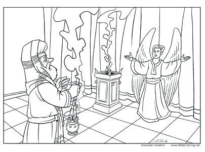Thursday Of 3rd Week Of Advent Angel Coloring Pages Bible Coloring Pages Nativity Coloring Pages