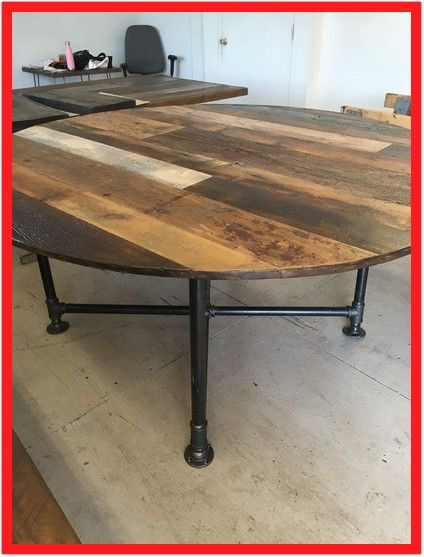 117 Reference Of Industrial Round Dining Table And Chairs In 2020 Diy Dining Table Round Wood Table Round Wood Dining Table