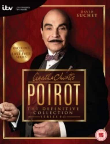 Agatha Christie S Poirot Series 1 13 Collection 35 Disc Import Agatha Christie S Poirot Agatha Christie Poirot