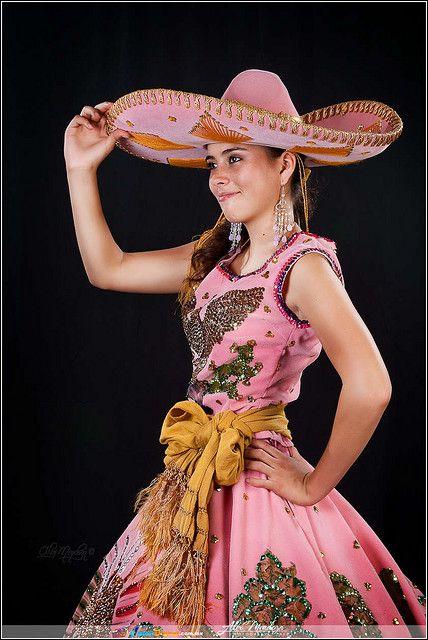 Traje de Charro de Mujer Méxicana