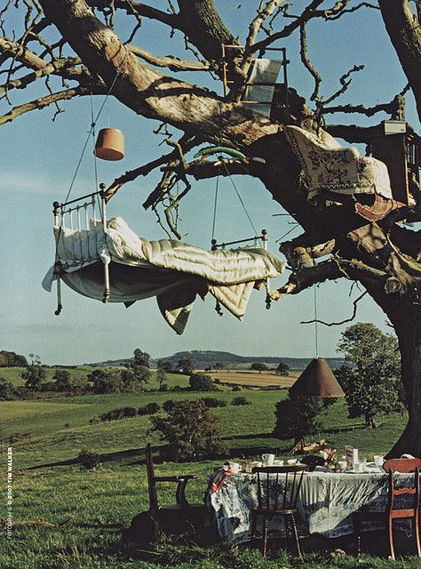 Tree Bed, Great Britain photo by Tim Walker !