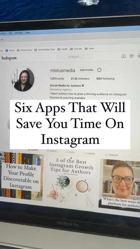 Six Apps That  Save You Time On Instagram
