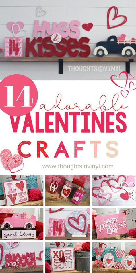Wood Valentines Day Crafts