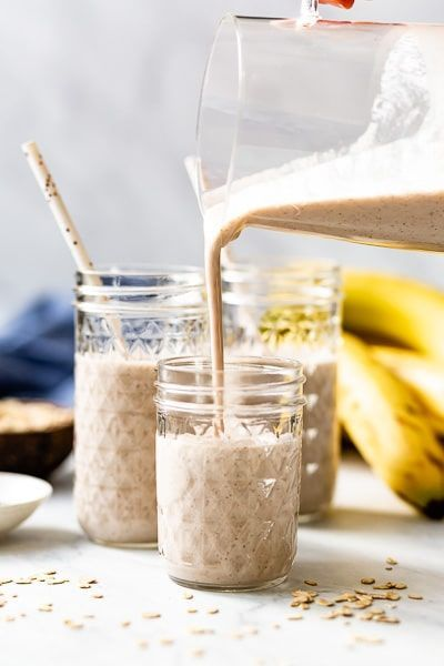 5 Minute Vegan Banana Smoothie Recipe Recipe Banana Smoothie Recipe Banana Healthy Banana Smoothie