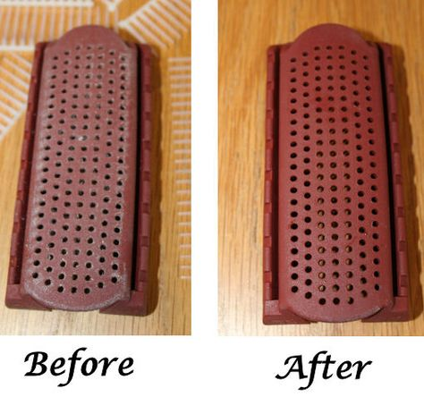 How To Clean Your Denman Brush!