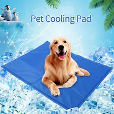 Pet Cooling Mat Pad Gel Cooler For Dog Crate Bed Comfort Chilly