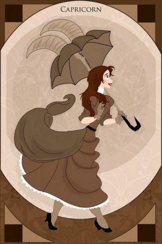 Princess Zodiacs - Capricorn