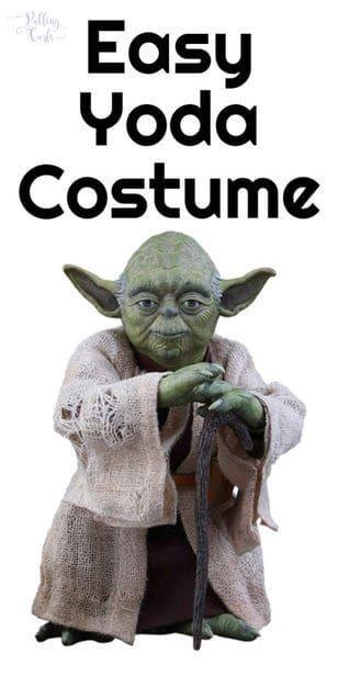 Diy Yoda Costume Make This Jedi At Home Yoda Costume Kids Yoda Costume Yoda Halloween